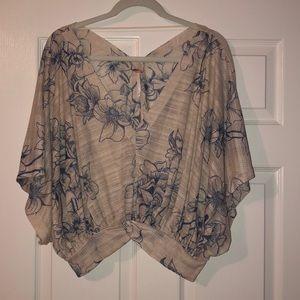 Free People blouse NWOT